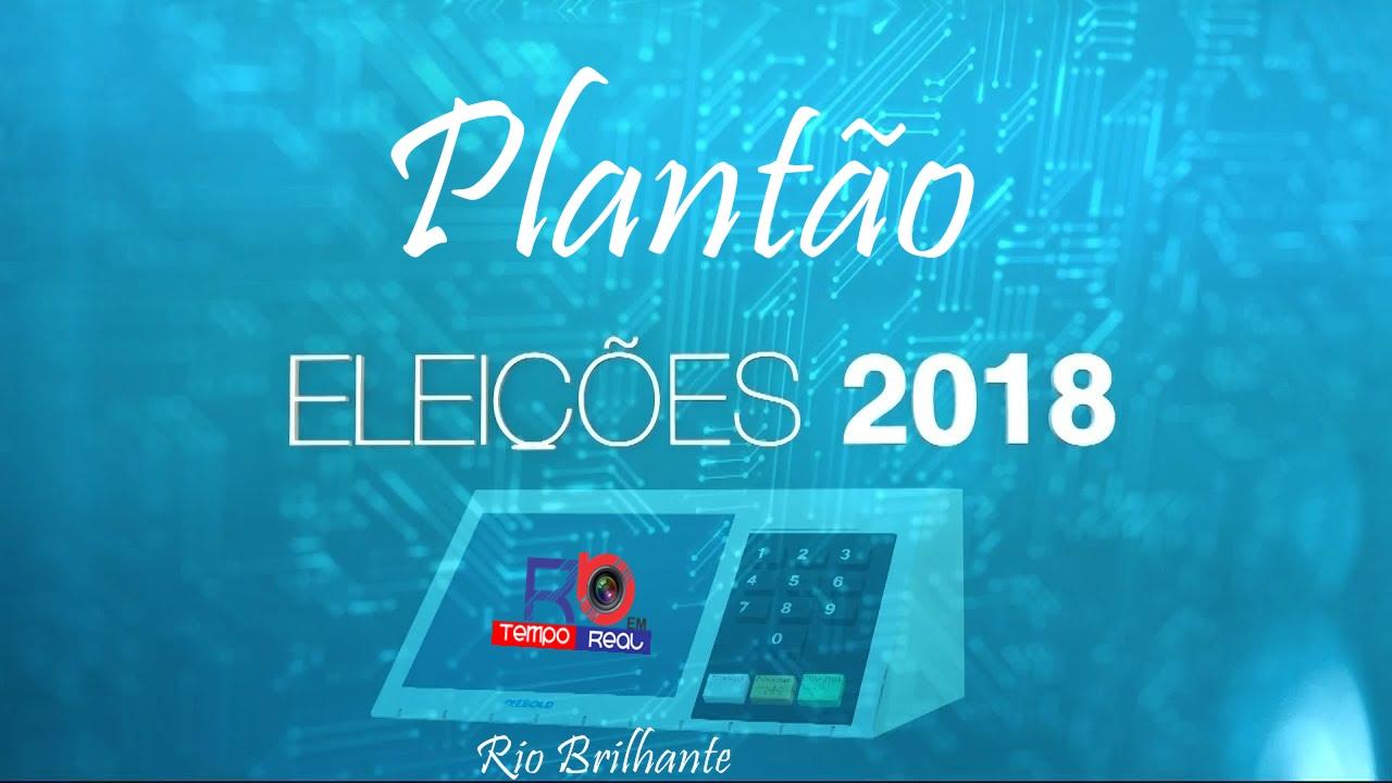 plantão eleições 2018