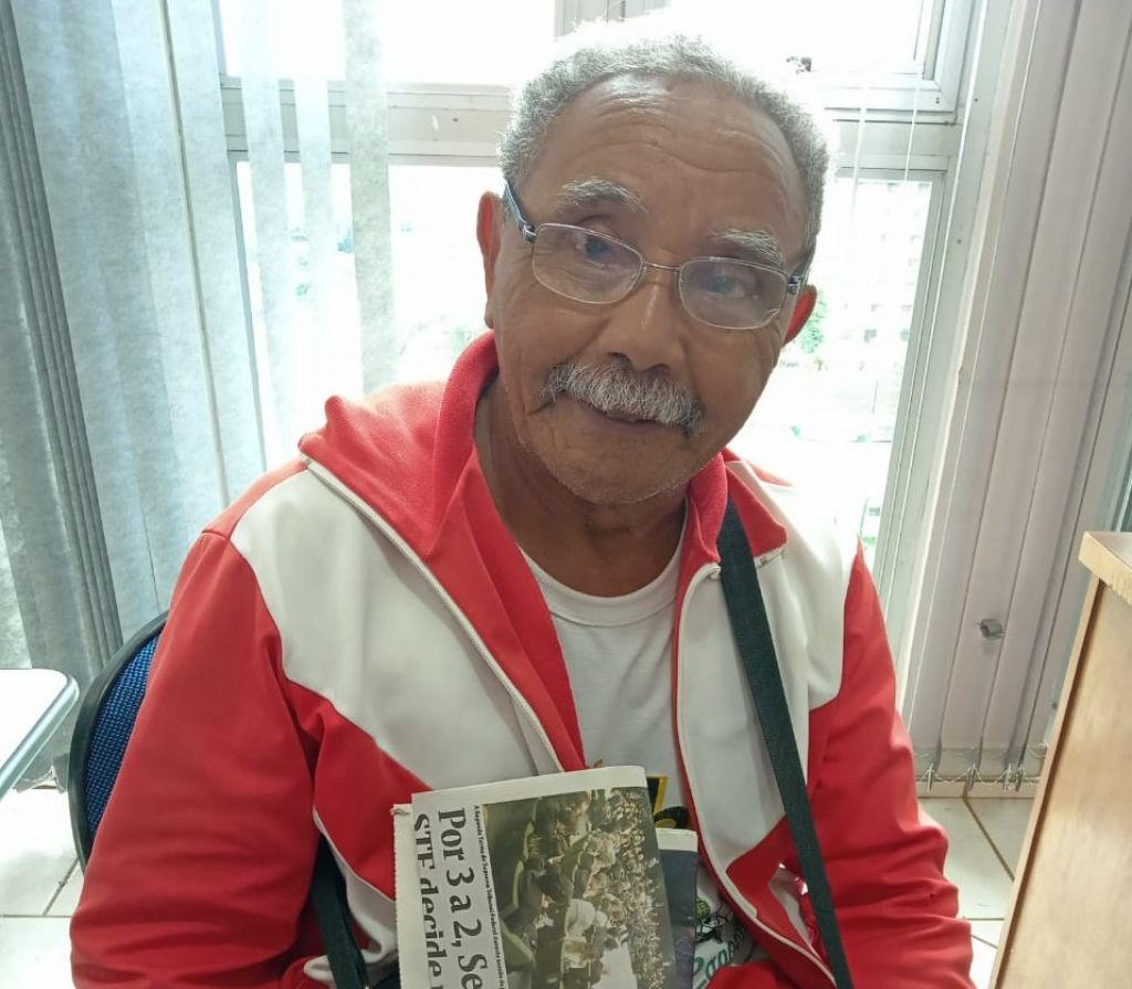 Mario Alves dos Santos, de 69 anos - Foto: Karol Chicoski/94FM