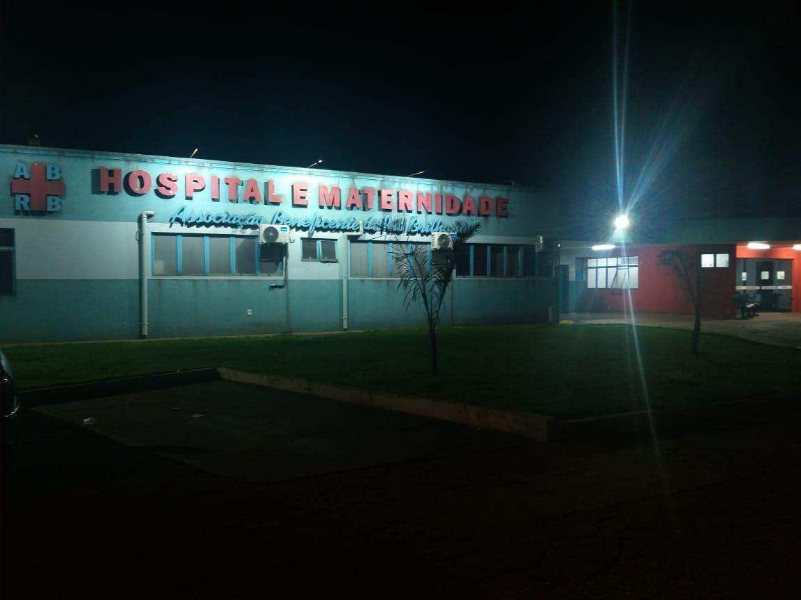 Hospital de Rio Brilhante onde todos os pacientes estão em isolamento. Foto: Maikon Junior.